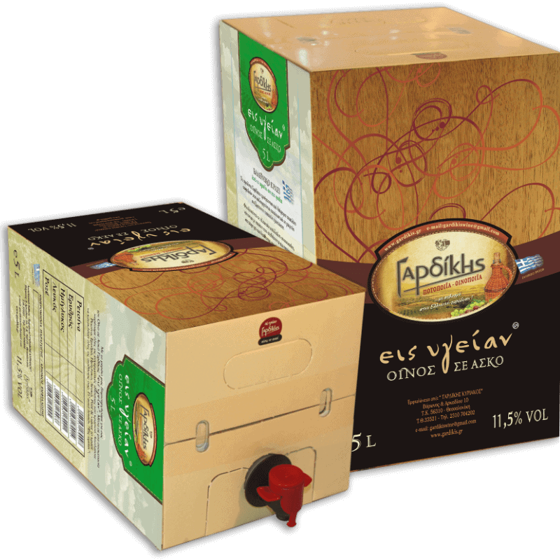 Wein in Bag in Box